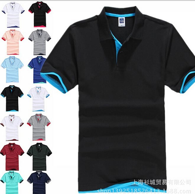 summer styles  big horse  brand camisa polo ralphly men cotton polo shirt plus size XXXL short sleeve classic solid slim topsОдежда и ак�е��уары<br><br><br>Aliexpress