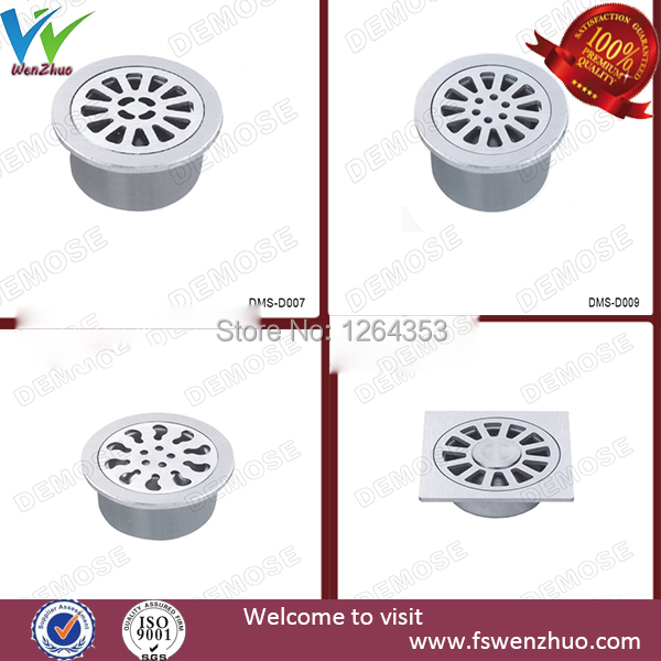 Stainless steel floor drains for toilet size 15X15cm(China (Mainland))