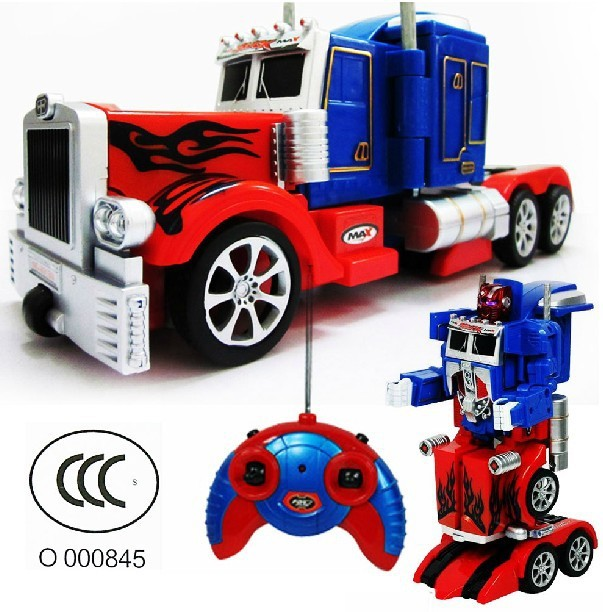 Remote Control RC Cars Robot Toy Can Changeability & Sound & Light Toys & Hobbies Children Remote Control Toys