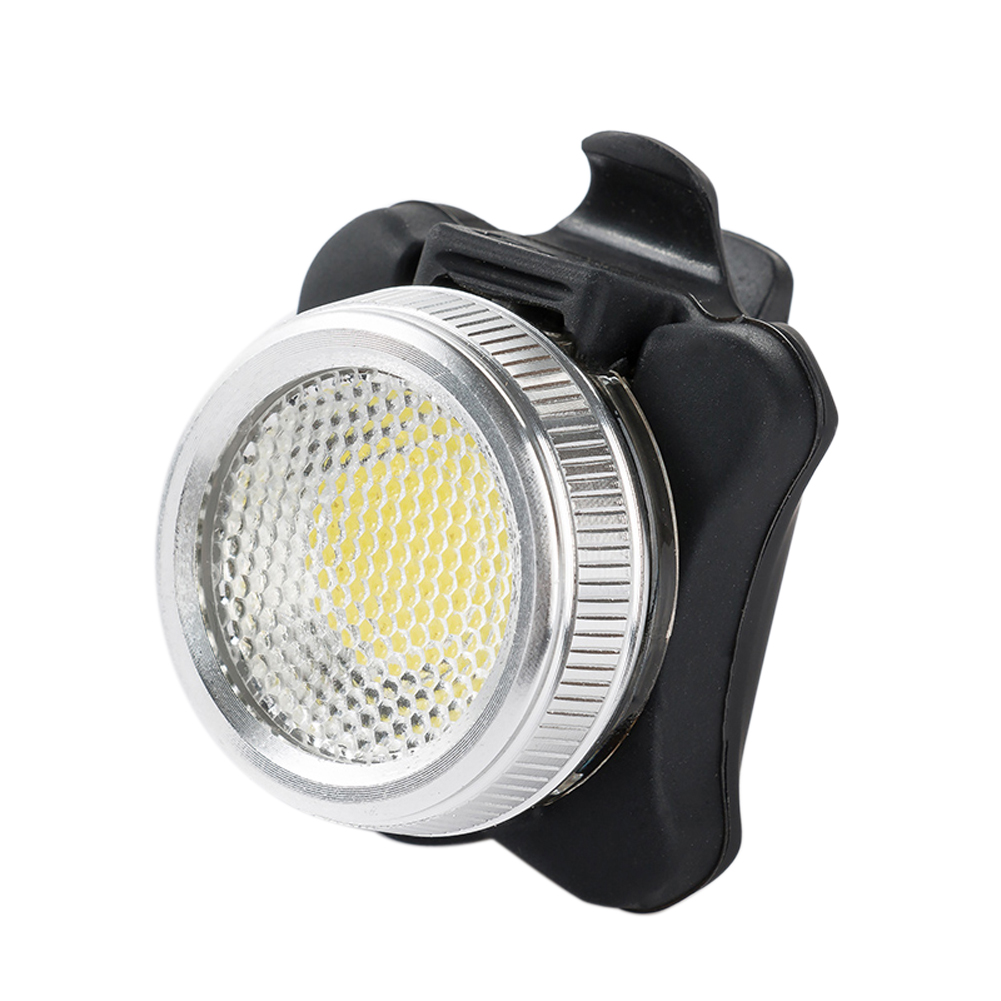 Practical Bicycle Bike 3 LED COB Head Front lLight Aluminum Alloy Rear Tail light Rechargeable 4 Modes Cycling Lamp Accessories(China (Mainland))