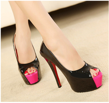 Black stiletto red sole online shopping-the world largest black ...