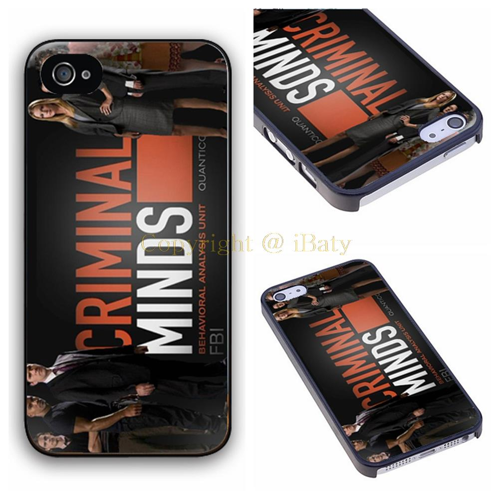 Criminal Minds Side Procedural Profiling The Criminal hard plastic phone case cover for Apple iPhone 4 4s 5 5s 5c 6 6s plus(China (Mainland))