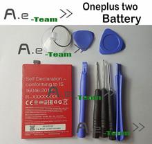 Oneplus два аккумулятора BLP597 100% оригинал 3200 мАч литий-ионный замена назад — резервный аккумулятор для Oneplus два / Oneplus 2 смартфон в наличии