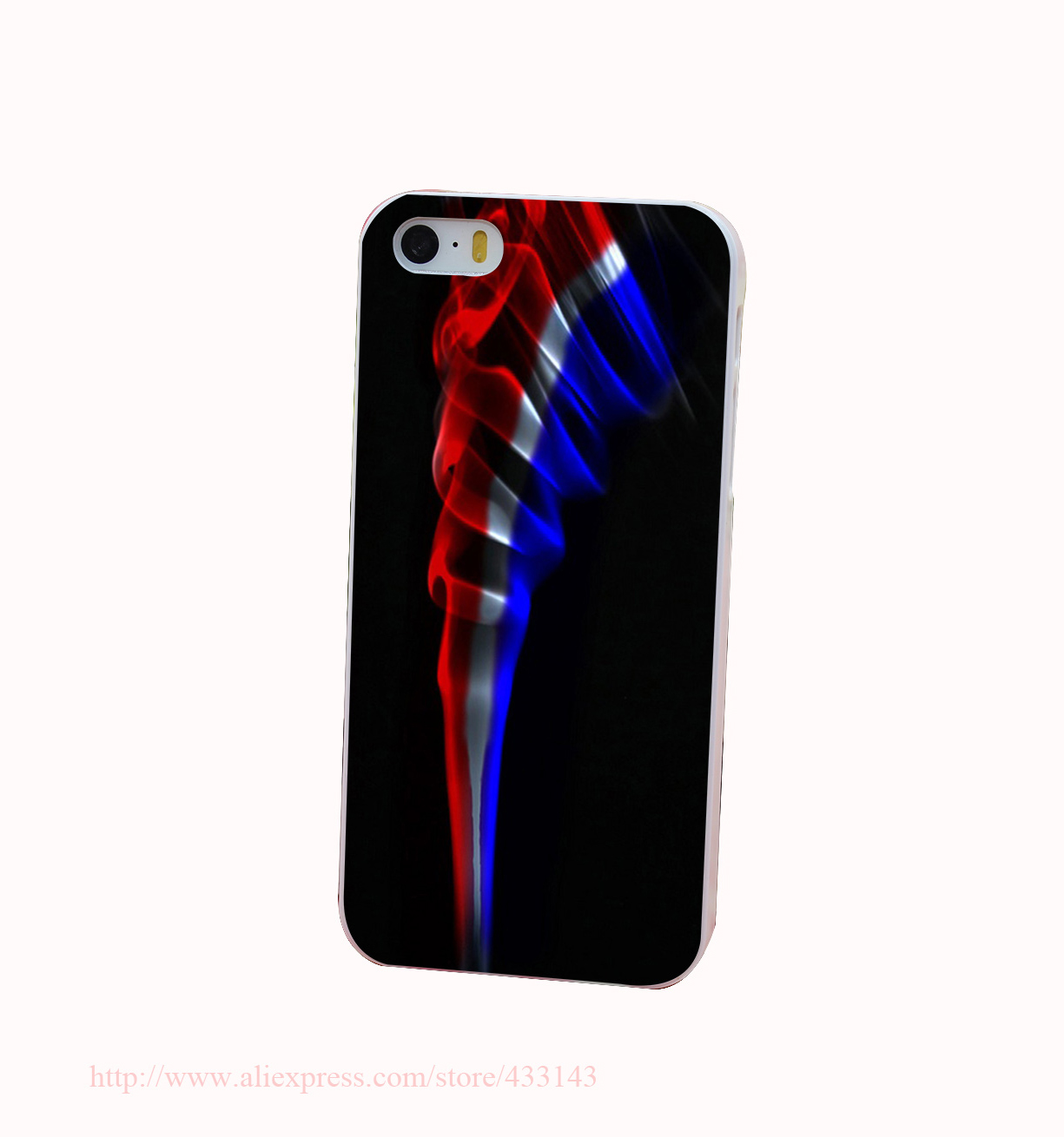 Vapors Hard White Cover Case for iPhone 4 4s 5 5s 5c 6 6s Protect Phone Cases(China (Mainland))