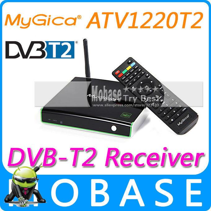 Geniatech MyGica ATV1220T2 DVB T2 Android TV BOX XBMC DVB-T2 Tuner Receiver 1G/4G Amlogic 8726-MX Dual Core IPTV Media Player(China (Mainland))