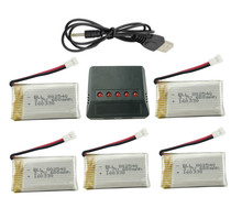 Buy 5 1 Syma X5C X5C-1 X5A X5 X5SC X5SW H5C V931 Lipo Battery Charger + 5Pcs 3.7V 600mAh Battery Free for $14.06 in AliExpress store