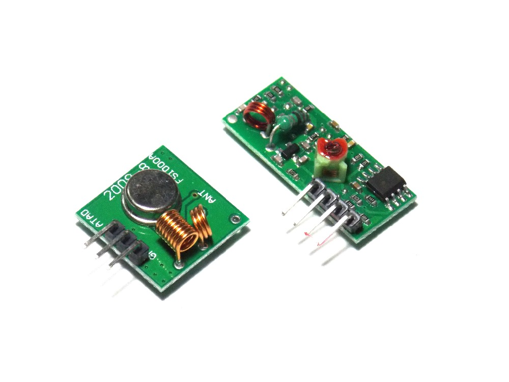 433Mhz RF Transmitter With Receiver Kit For Arduino ARM MCU Wireless(China (Mainland))
