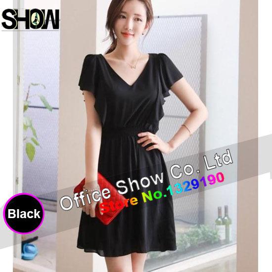 Black Loose Fitting Dresses Black Fitting Dress