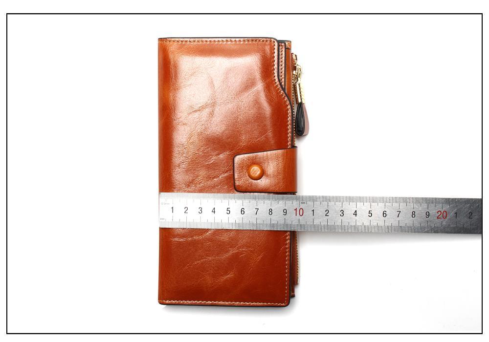 HTB1v TeOpXXXXaNaFXXq6xXFXXXi - 2018 New Design Fashion Multifunctional Purse Genuine Leather Wallet Women Long Style Cowhide Purse Wholesale And Retail Bag