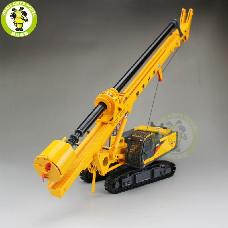 1/35 XCMG Rotary Drilling Rig Construction Model Diecast Model Car Toy Hobby Gift(China (Mainland))