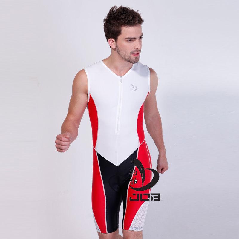 JOB Ironman Triathlon Training one piece suit men sleeveless triathlon suit triathlon wetsuit for running , cycling , swimming<br><br>Aliexpress