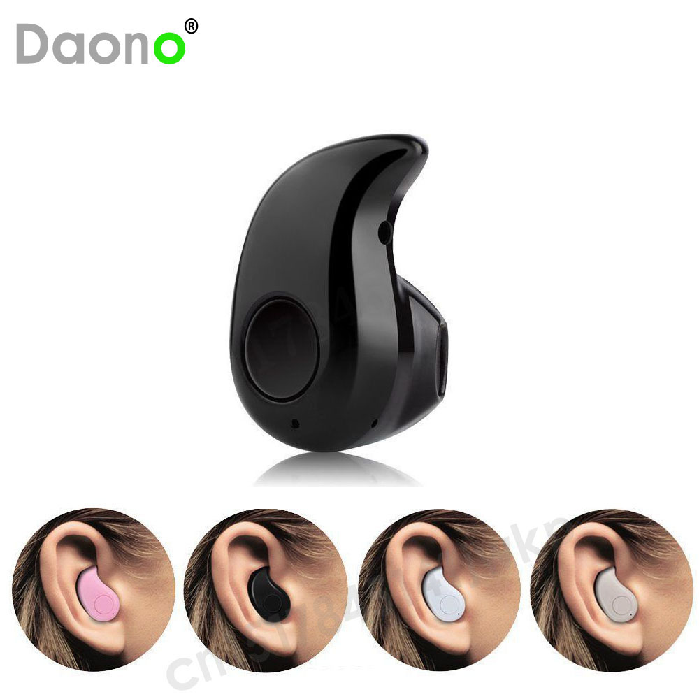 Daono S530 Mini Bluetooth Earphone In-Ear Stealth Headphones Phone Wireless Headset Universal V4.0 for All Phone(China (Mainland))