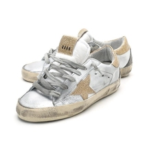 2016 Italy Golden Goose Superstar Casual Shoes Genuine Leather Men Women Scarpe Breathe all sport star Shoes Woman GGDB SSTAR(China (Mainland))