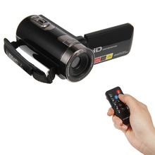 """Buy HDV-301PR 3.0"""" TFT LCD 1080P HD CMOS Digital Video 16X Zoom Camera Camcorder DV Video Camera Camcorder Remote Control for $101.52 in AliExpress store"""