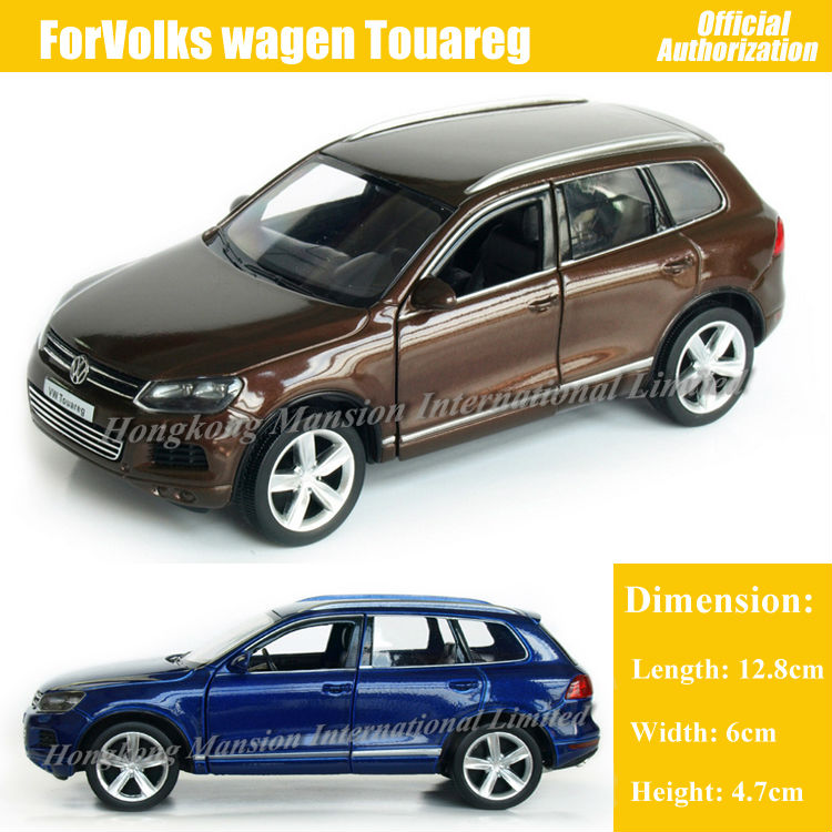 1:36 Scale Diecast Alloy Metal Luxury SUV Car Model ForVolks wagen Touareg Collection Model Pull Back Toys Car(China (Mainland))