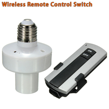 E27 Base LED Lamp Wireless Remote Control Switch Can Control Though Wall(China (Mainland))