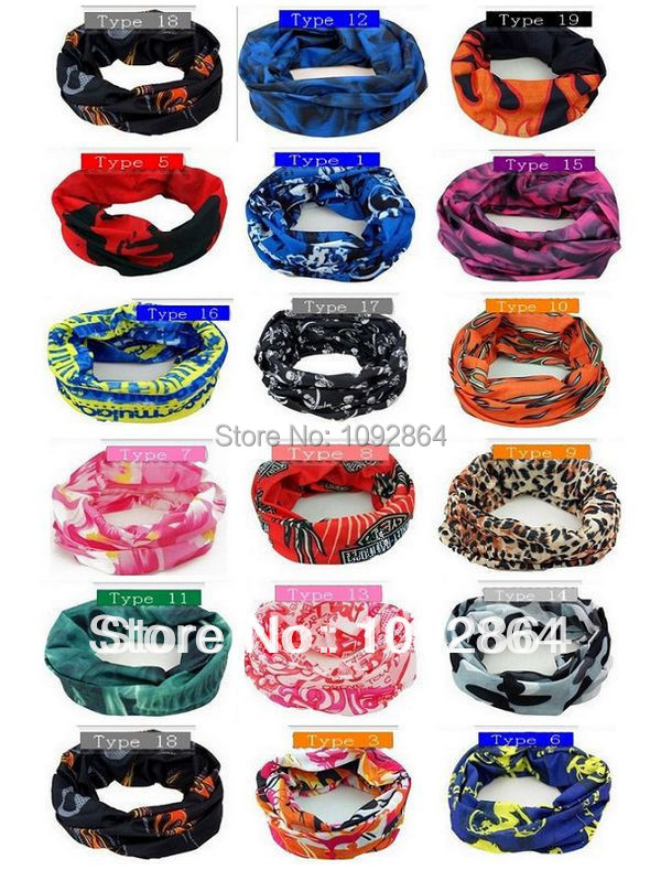 Outdoor Sport Scooter Cycling Bike Bicycle Riding Variety Turban Magic Headband Veil Multi Head Scarf Scarves Face Mesh Bandanas(China (Mainland))