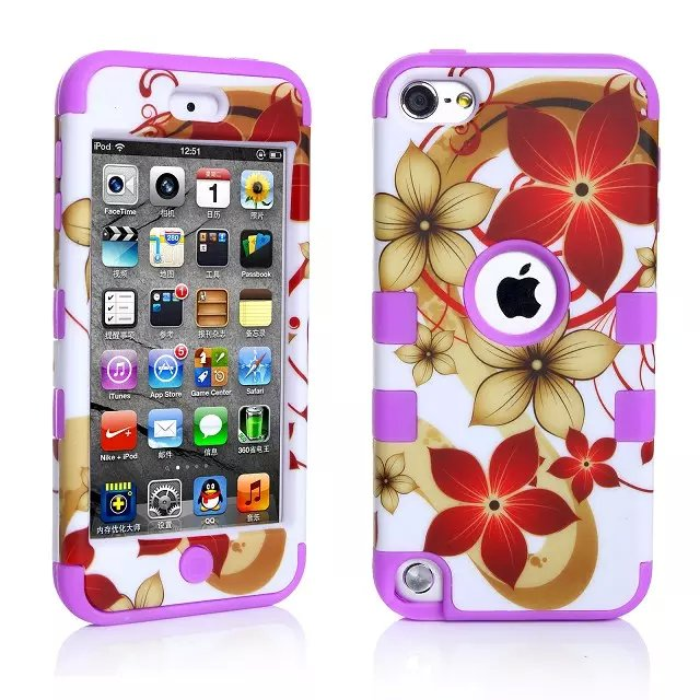 For Apple iPod Touch 5 5th 5G Gen / Touch 6 6th Gen Skin Case Cover Free Shipping(China (Mainland))