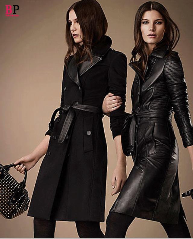 Womens Long Black Winter Coat - Coat Racks