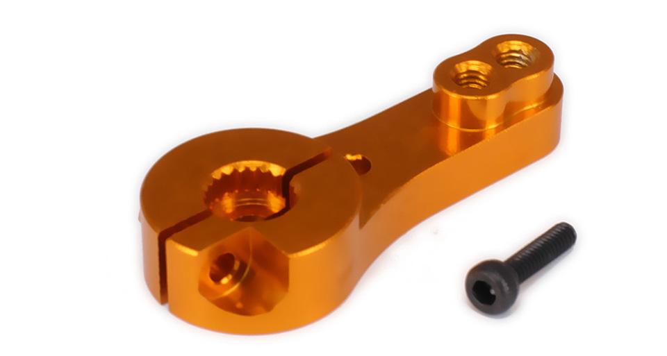 Teeth Tooth Steering Half Servo Arm Horn 35mm 23T For 1/8 1/10 RC Car RC Boat JR KO HSP HPI Wltoys Himoto Redcat Traxxas Axial