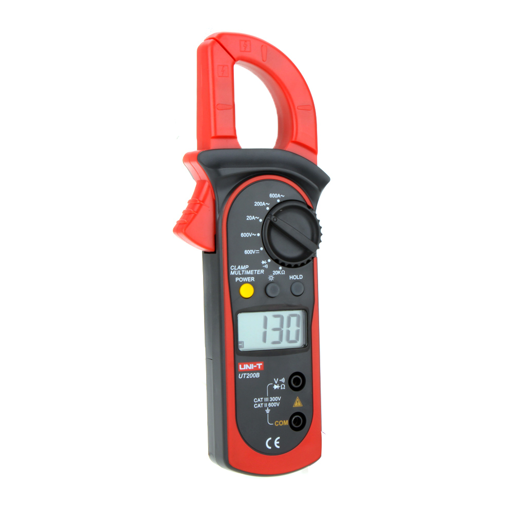 Voltage Clamp Meter : Uni t ut b digital clamp meters lcd backlight ac dc