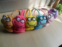 Free Shipping!Warm winter children cute frog earmuffs(China (Mainland))