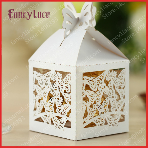 Wedding Favor Boxes For Sale : Sale Paper Cut Butterfly Wedding Favor Gift Candy Box,Chocolate Box ...