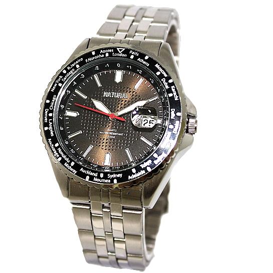 Stainless Steel Watches For Smart Men Round Matt Silver Band PNP Matt Silver Watchcase Water Resist IPS Elegant Watch FW829B(China (Mainland))