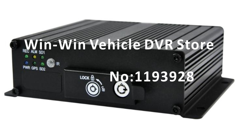car dvr 4 channel with G-sensor support Dual 64GB memory with 2PCS 600TVL Camera(China (Mainland))