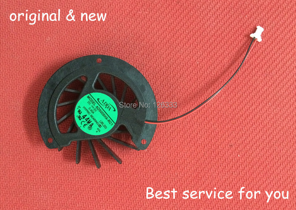 New and Original CPU cooling fan for HP CQ40 CQ41 CQ45 AMD laptop cpu cooling fan P/N: AD5005HX-RC1(China (Mainland))