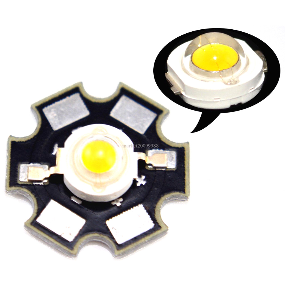 LED Star PCB RGB/Warm/Cold white 3.2-3.6V LED Chip Bead Mounted on 20mm Star PCB Aluminum Plate for Decoration Lighting 10pcs(China (Mainland))