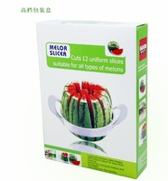 New multifunctional fruit stainless steel cutter/cantaloupe slicer/watermelon cut