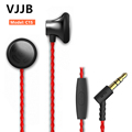 VJJB C1S HiFi Super Bass Earphones Earbuds with Mic Remote Talk Clear Voice for iPhone 5s