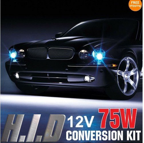 75W XENON HID Conversion Kit H1 H3 H4-2 H7 H8 H9 HB3 HB4 9006 9004-2 H13-2<br><br>Aliexpress
