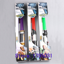 Cosplay Darth Vader Star Wars Lightsaber with Light and Sound Led Saber Telescopic Star Wars laser Sword Toy Weapons Kids Toys