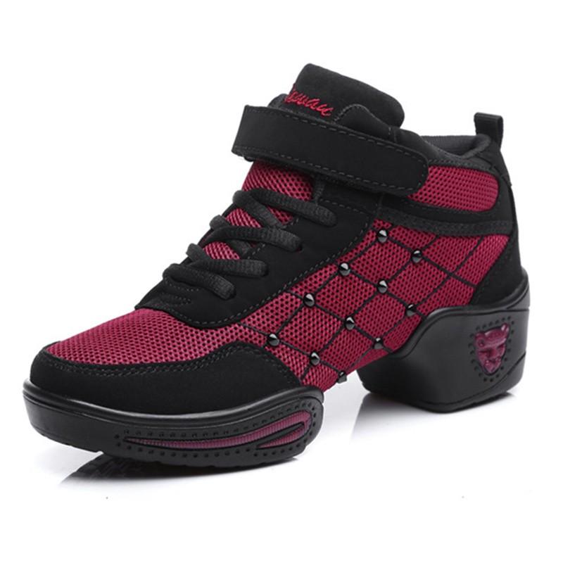 New 2016 Arrive 2 colors Dance shoes women Jazz Hip Hop Shoes sneakers for woman platform dancing ladies shoes #682