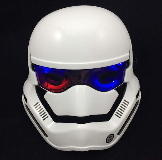 Bao Wu Shikelongshi hasbro black white soldiers helmet adult children's toys luminous mask Star Wars Hasbro(China (Mainland))