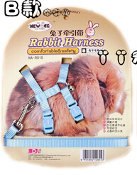 120cm pet supplies chest suspenders rabbit traction rope ferret totoro multifunctional collar leash harness