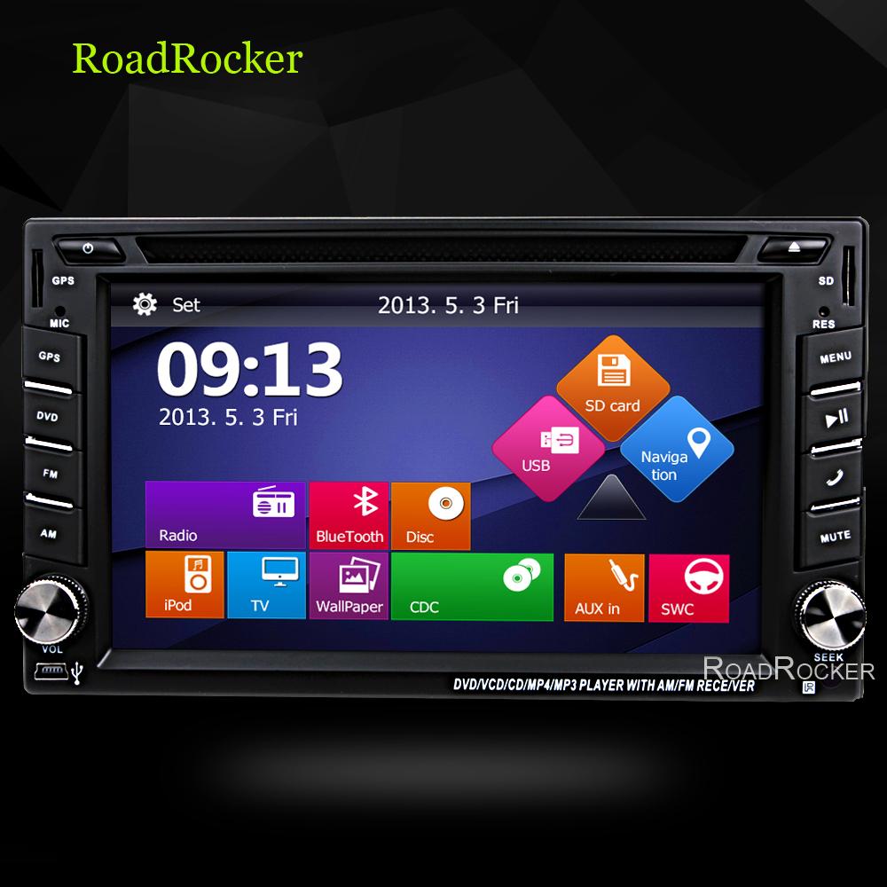 2 din Car dvd player pc universal radio x-trial xtail Qishqai for nissan dvd car dvd gps video player radio stereo navigation(China (Mainland))