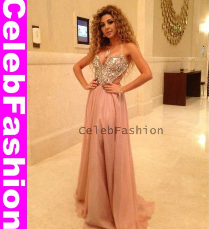 Singer Wedding Dress Prom Dress Arab Singer Myriam