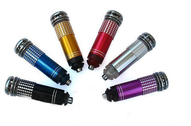 Universal 200pcs/lot mini auto car fresh air purifier air fresher oxygen bar lonizer A variety of colors High Quality(China (Mainland))