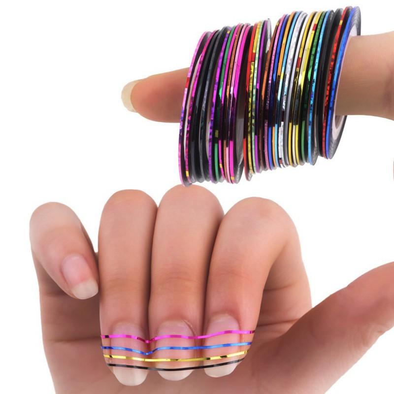 Nail Striping 09