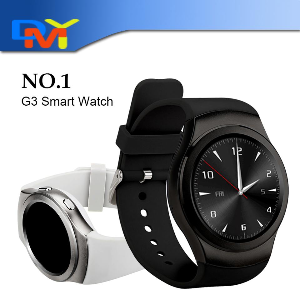 2016 New Bluetooth smart watch NO.1 G3 WristWatch sport Pedometer SIM card slot Smartwatch Android Smartphone Support GPRS(China (Mainland))