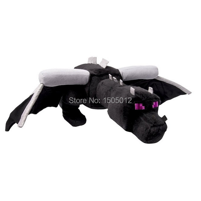 "Original Minecraft 24"" Ender Dragon Plush Toys Black Minecraft Enderdragon Toy(China (Mainland))"
