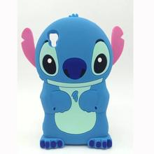 Luxury 3D Cute Cartoon Stitch Soft Silicone rubber Case Cover Sony Xperia M4 Aqua E2303 E2353 E2306 Phone Cases - laobiao store
