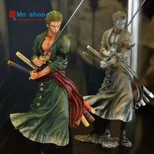Japan Anime One Piece Roronoa Zoro 2 Colors New World Figuarts Action Figure Toys PVC Figure Doll Gift P20