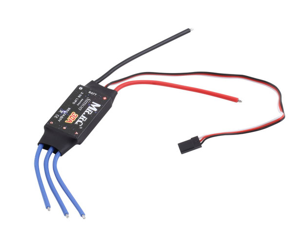 MR.RC Simonk 20A ESC Brushless Motor Speed Controller for Multicopter New UL23301(China (Mainland))