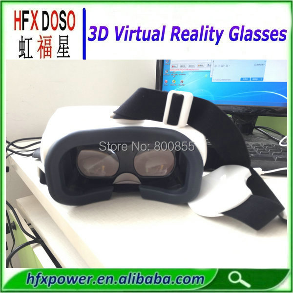 Promotion price 3d vr google glasses for iphone 6 plus making 3D video watching 3D video(China (Mainland))