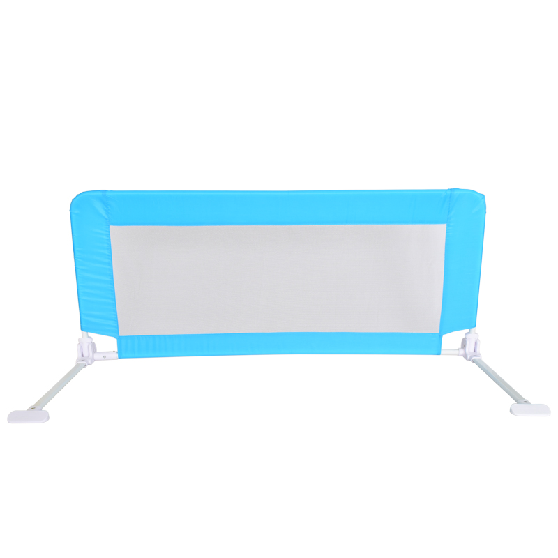 hot selling child kid baby safety product baby safety bed rail security for bed 50*50*120cm blue color(China (Mainland))