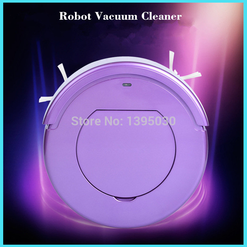 Robot Vacuum Cleaner Intelligent Robot Vacuum Cleaner for Household Automatic Efficient vacuum cleaner KRV205(China (Mainland))
